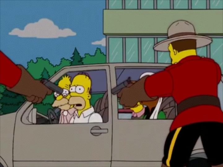 thesimpsons, Innocent Tourists GIFs
