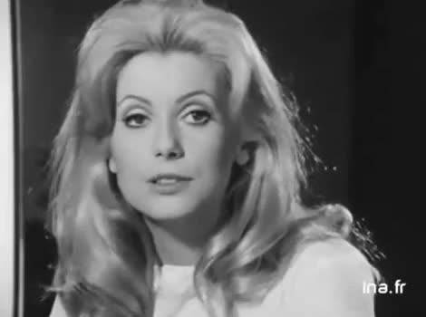 Watch this trending GIF on Gfycat. Discover more black and white, blonde, catherine deneuve, gorgeous, young, young and beautiful GIFs on Gfycat