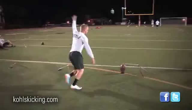 6d1985ca93 Watch Field Goal Competition | National Underclassman Challenge | Kohl's  Kicking Camps GIF on Gfycat.