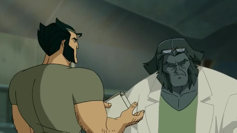 annoyed, beast, disappointed, mad, pff, stop, wolverin, x men, x-men, xmen, Evolution of the Beast GIFs