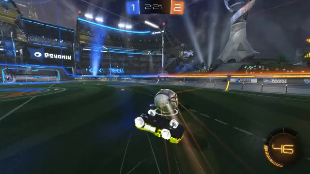 Watch and share Rocket League GIFs and Ceiling Shot GIFs by WhiteBoy  on Gfycat