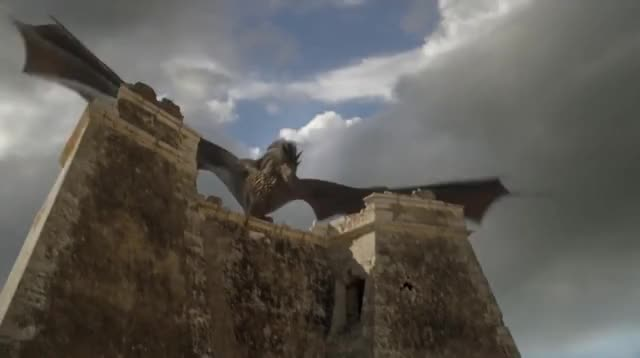 Watch this dragon GIF by Norman-Freak89 (@norman-freak89) on Gfycat. Discover more battle of meereen, daenerys riding drogon, dragon, drogon, drogon destroys ships, grey worm, grey worm kills masters, kills, masters GIFs on Gfycat
