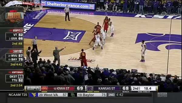 Watch and share [Post Game Thread] Kansas State Defeats #11 Iowa State (reddit) GIFs by haplo on Gfycat