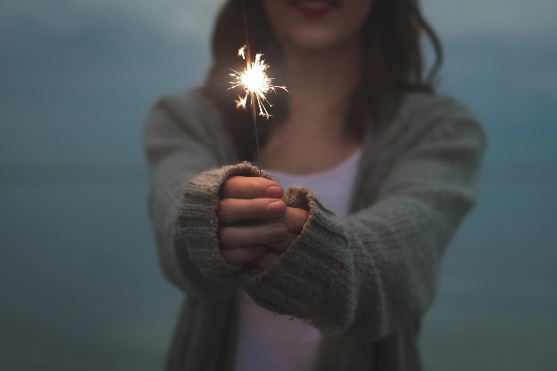 Cinemagraphs, cinemagraphs, [OC] Sparkler Girl (Request fulfilled for /u/oile2011) (reddit) GIFs
