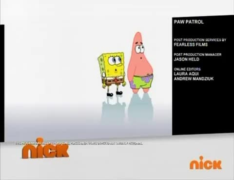 Watch and share Spin Master Entertainment And Nickelodeon Productions Playground Logos Error On Split-screen Credits (HQ) GIFs on Gfycat