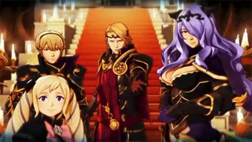 Watch Loyalty To Nohr GIF on Gfycat. Discover more camilla, elise, fe14, fire emblem 14, fire emblem fates, fire emblem if, gifs, leon, marx, nohr GIFs on Gfycat