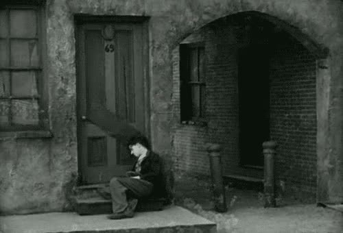 Watch and share Black And White GIFs and Charlie Chaplin GIFs on Gfycat