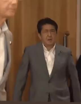 Watch and share Shinzo Abe GIFs and Celebs GIFs on Gfycat