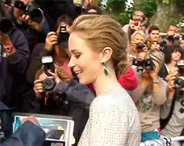 Watch and share Cannes 2015 GIFs and Emily Blunt GIFs on Gfycat