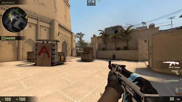 Watch and share Crosshair Style 1 Flashbang Bug GIFs by maxu_cs on Gfycat