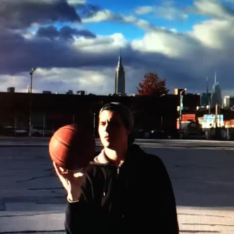 Watch Floating Basketball.  I don't need After Effects or Final cut to make Vine magic.  #LBfloats #nocgi #nospecialeffects #AnalogAnimation GIF by Daniel Baker (@danbaker) on Gfycat. Discover more related GIFs on Gfycat