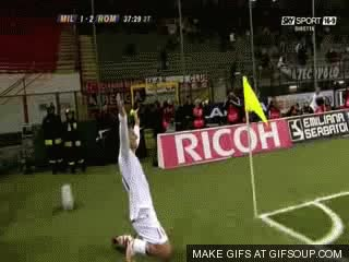 Watch and share Totti And As Roma Guys GIFs on Gfycat