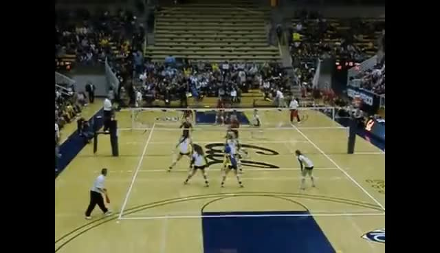 Watch and share Volleyball GIFs and Spikes GIFs on Gfycat