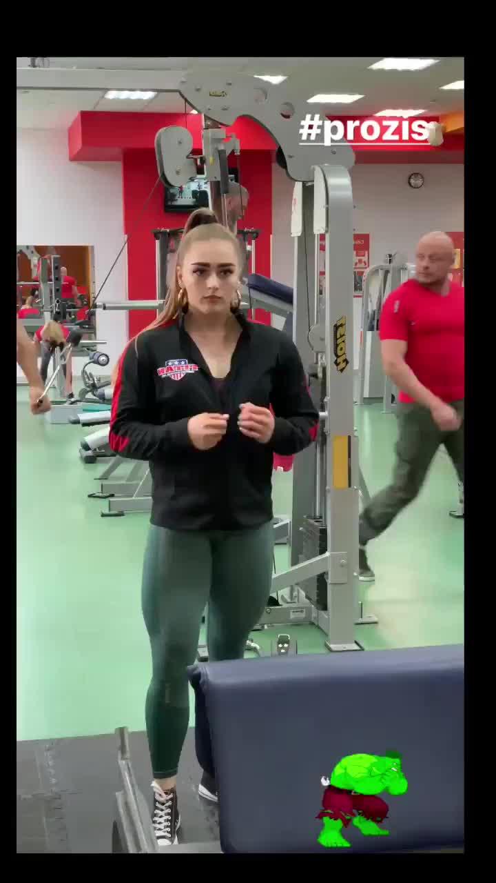 fit, fitness, julia vins, powerlifter, powerlifting, workout, Julia Vins GIFs