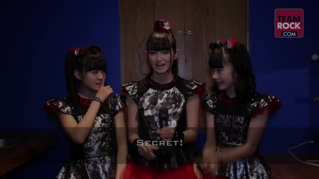 Watch 3 Minutes With Babymetal | Metal Hammer GIF on Gfycat. Discover more classic rock, team rock, teamrock GIFs on Gfycat
