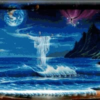 Watch Jesus Walking on the Water GIF on Gfycat. Discover more related GIFs on Gfycat