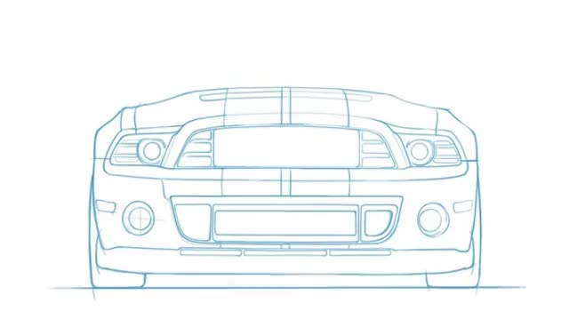 Watch and share Ford Mustang Drawing Timelapse GIFs on Gfycat