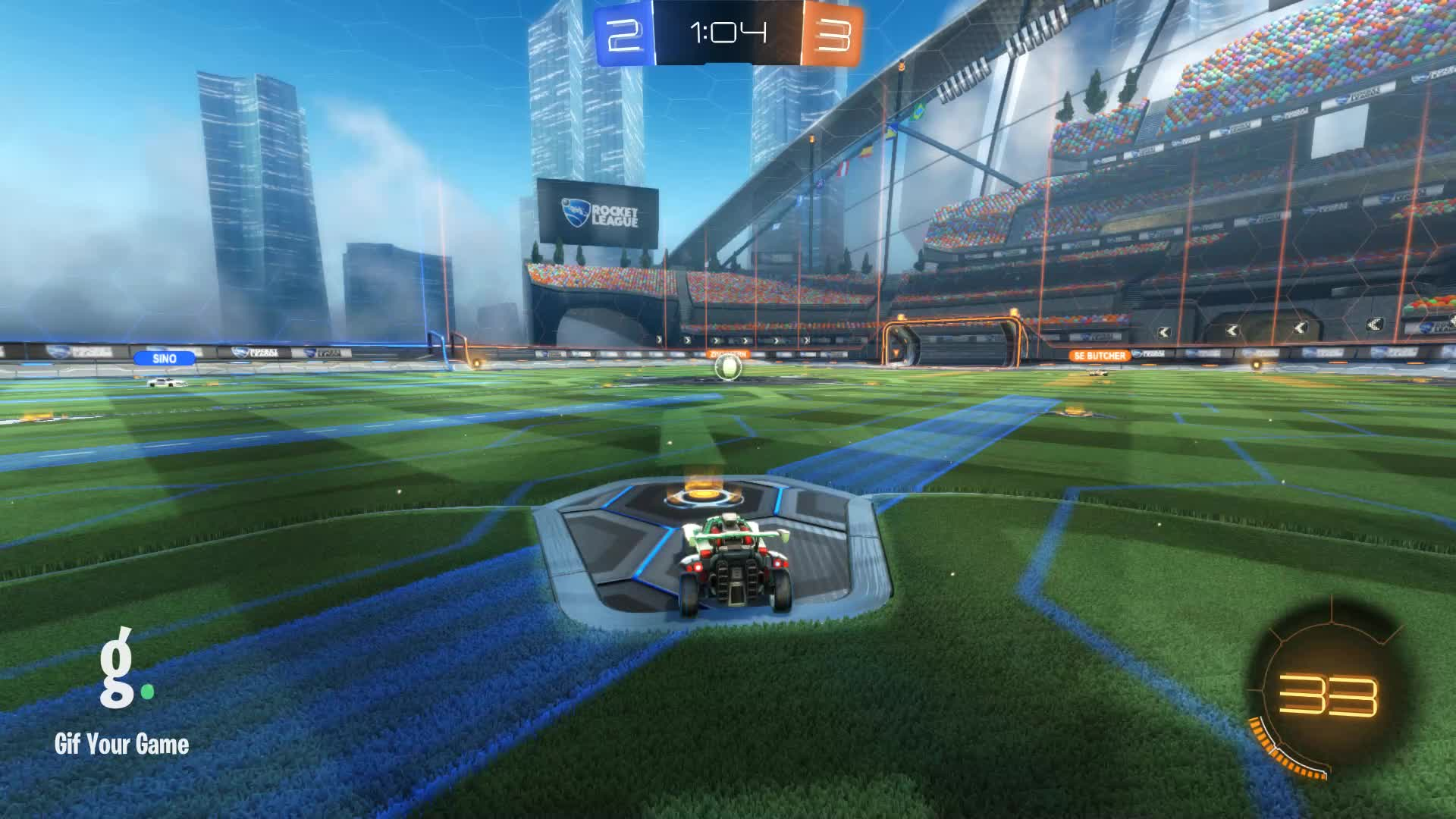 Gif Your Game, GifYourGame, Goal, Rocket League, RocketLeague, snus, Goal 6: snus GIFs