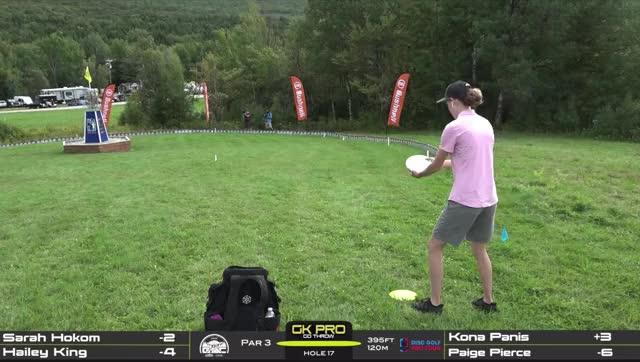 Watch and share Hailey King Green Mountain Hole 17 GIFs by Benn Wineka UWDG on Gfycat