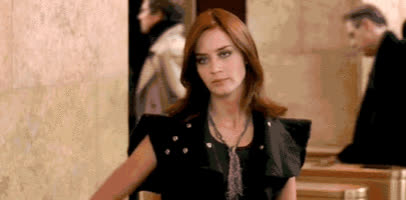 emily blunt, eye roll, eyeroll, reaction, Emily Blunt Eye Roll GIFs