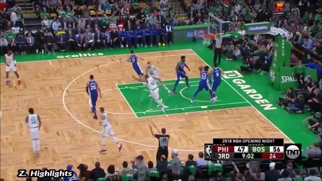 Watch and share Philadelphia 76ers GIFs and Boston Celtics GIFs by 왜 농구를 못 끊니 on Gfycat
