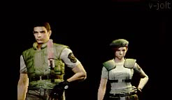 Watch and share Rebecca Chambers GIFs and Carlos Oliveira GIFs on Gfycat