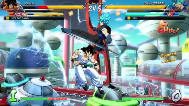 Watch Vegito Combo GIF on Gfycat. Discover more PS4share, DRAGON BALL FighterZ, Gaming, PlayStation 4, Rad Dude, Sony Interactive Entertainment GIFs on Gfycat