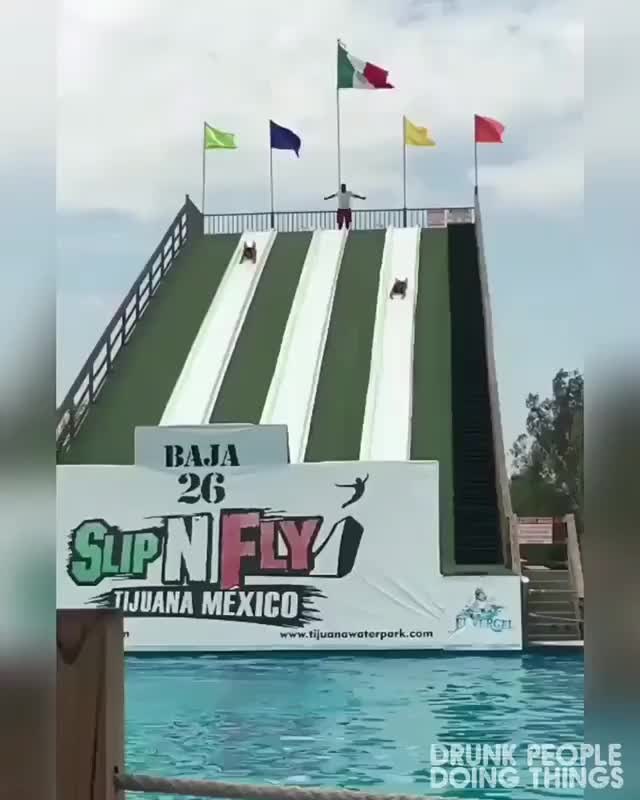 Watch and share Waterslide GIFs and Hadtohurt GIFs by yourawesome on Gfycat