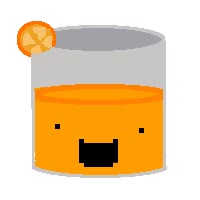 Watch and share Orange Juice Animation By Loconut1 animated stickers on Gfycat