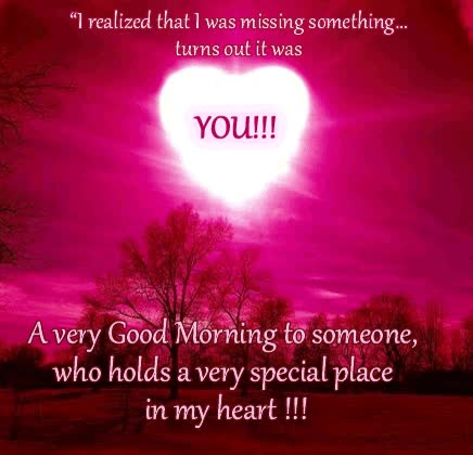 Watch and share Very Good Morning To Someone Who Holds Very Special Place In My Heart GIFs on Gfycat