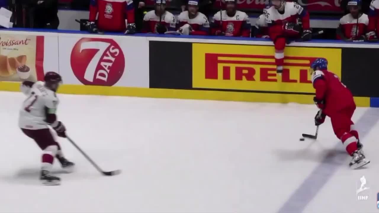 Jakub Vrana World Championship goal GIFs