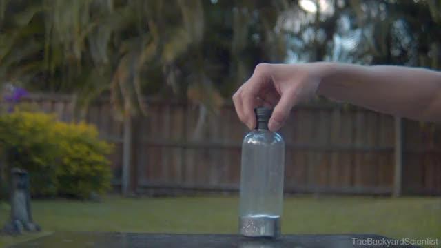 Watch and share Mercury Bottle Flip GIFs on Gfycat