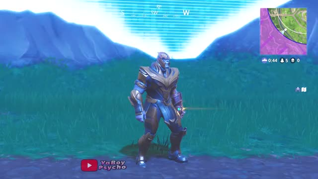 Fortnite New Thanos Skin Showcased With 35 Dances Emotes