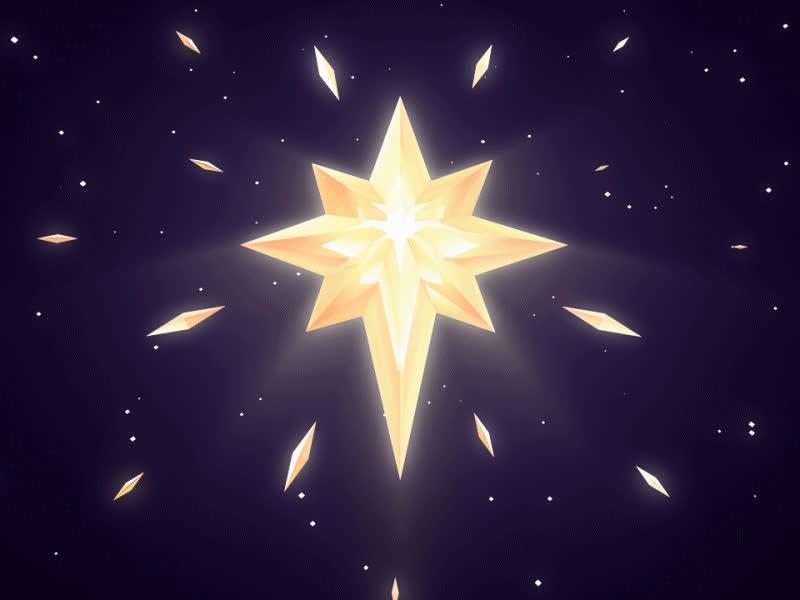 nature, stars, christmas-star-dribbble.gif GIFs