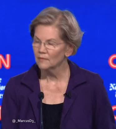 Watch and share Elizabeth Warren GIFs by MarcusD on Gfycat