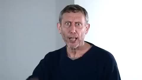 Watch and share No Breathing In Class - Michael Rosen GIFs on Gfycat