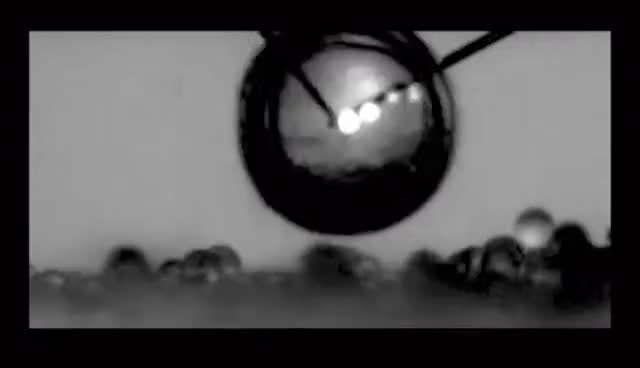 Watch and share Cavitation Bubbles Bursting With Cleaning Power - Science Nation GIFs on Gfycat