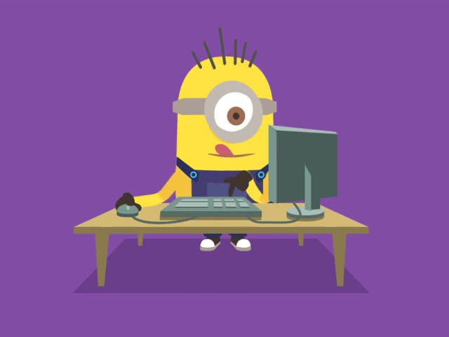 """Watch and share A """"Minion"""" Character I Fully Rigged In AfterEffects. GIFs on Gfycat"""