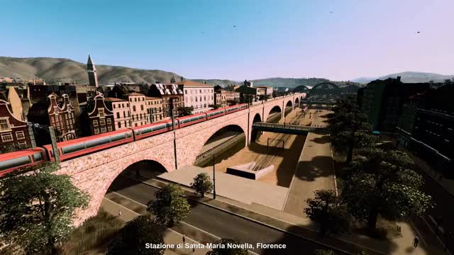 Watch and share Florence's Train, Metro, Bus, Taxi, And Ferry Hub Just Outside The Old City Walls GIFs on Gfycat