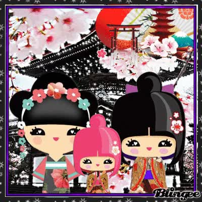 Watch 🎎 Japanese dolls GIF on Gfycat. Discover more related GIFs on Gfycat