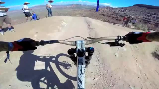 Watch Pushing the limits of mountain biking GIF on Gfycat. Discover more adrenalineporn, red bull, red bull rampage GIFs on Gfycat