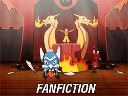 """Watch """"Flameo, hotman"""" - Aang GIF on Gfycat. Discover more ATLA, Avatar The Last Airbender, Fanfiction vs. Reality, jet, kataang, the play, zuko GIFs on Gfycat"""
