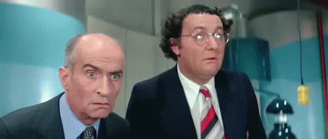 Watch and share Louis De Funes GIFs on Gfycat
