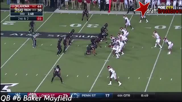 Watch and share Baker Mayfield Vs TexasTech(2016) GIFs on Gfycat