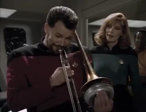 Watch riker trombone GIF on Gfycat. Discover more riker, trombone GIFs on Gfycat