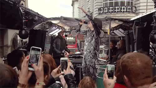 Watch Jessie J surprise gig with McDonalds UK, part 2 (x) GIF on Gfycat. Discover more boom bus, imlovinit, jessie j, jessieislovinit, jessiej, london, mcdonalds, mcdonaldsuk, mine GIFs on Gfycat