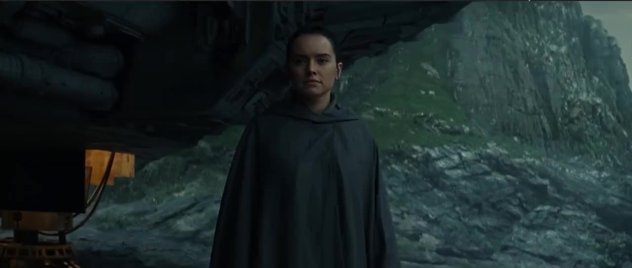 daisy ridley, star wars, star wars the last jedi, the last jedi, Star Wars Secrets of The Last Jedi: All New Footage GIFs