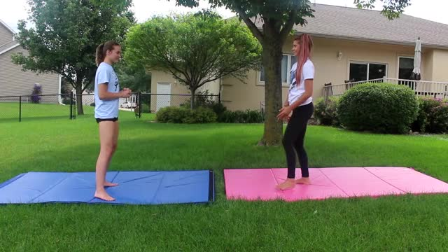 "Watch CHALLENGE! GIF on Gfycat. Discover more cheer, cheerleading, exercise, fitness, gymnastics, health, tc2, thecheernastics2, ""cheer and gymnastics"", ""teen fitness"" GIFs on Gfycat"