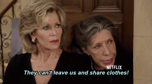 Watch this grace and frankie GIF on Gfycat. Discover more grace and frankie GIFs on Gfycat
