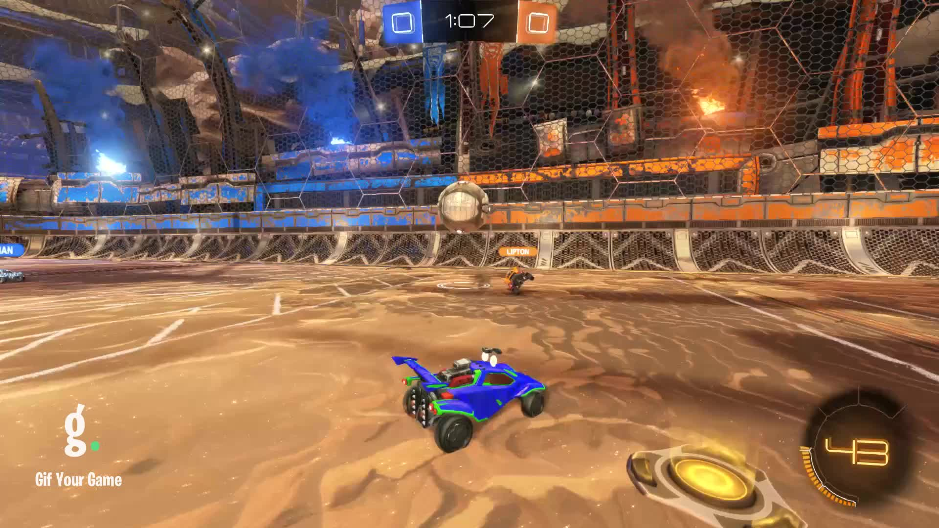 Gif Your Game, GifYourGame, Goal, NABODEH, Rocket League, RocketLeague, Goal 1: NABODEH GIFs
